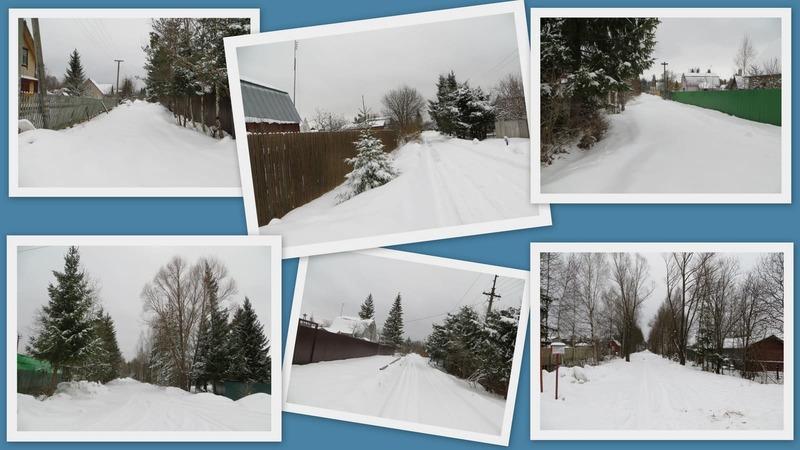 мартовский снег
